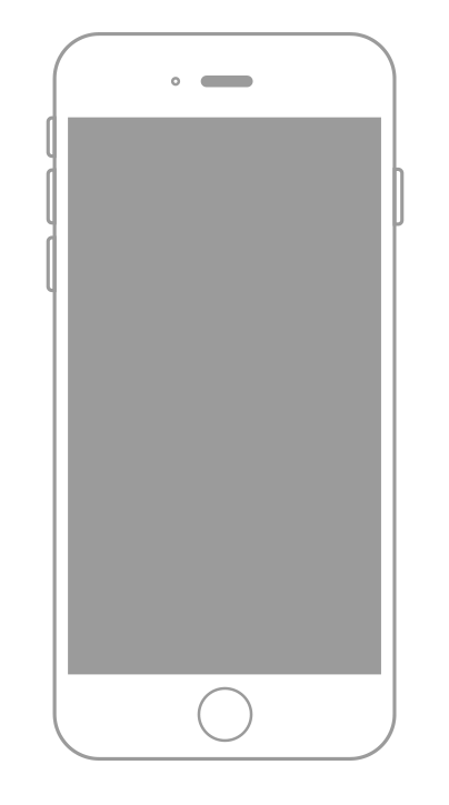 Iphone outline